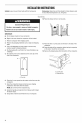 Maytag MTUC7500ADM0 Use & care manual - Page 4
