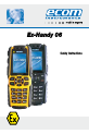 Ecom Instruments Ex-Handy 06 Safety instructions - Page 1