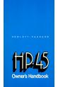 HP HP-45 Owner's handbook manual - Page 1