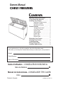Danby DCF1014WE Owner's manual - Page 1