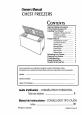 Danby DCF1018W Owner's manual - Page 1