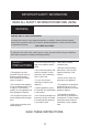 Danby DWC1132BLSDB Owner's use and care manual - Page 4
