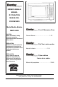 Danby DMW1048SS Owner's manual - Page 1