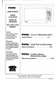 Danby DMW607W Owner's manual - Page 1