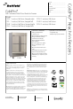 Delfield ColdPro F1FL 1 Specifications - Page 1