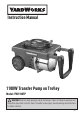 Yard Works YW1100TP Instruction manual - Page 1