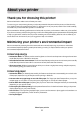 Dell 1dw Operation & user's manual - Page 6