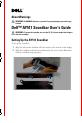 Dell AY511 Soundbar Operation & user's manual - Page 1
