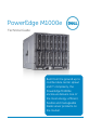 Dell PowerEdge M1000e Technical manual - Page 1