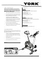 York CHALLENGER Elite Owner's manual - Page 4