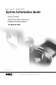 Dell Dimension 5150 System information manual - Page 1
