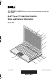 Dell 1510 - Vostro - Core 2 Duo 2.1 GHz Setup & features manual - Page 1