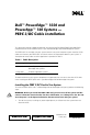 Dell PowerEdge 1550 Installation manual - Page 1