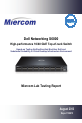 Dell Networking S6000 System Test report - Page 1