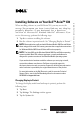Dell Axim X30 Software installation manual - Page 1