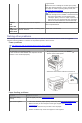 Dell 1133 Mono Laser Operation & user's manual - Page 8