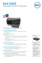 Dell 1210S - DLP Projector - 2500 ANSI Lumens Specifications - Page 1
