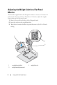 Dell E-Flat Panel Stand Operation & user's manual - Page 8
