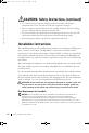 Dell 1655MC Installation manual - Page 4