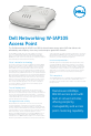 Dell W-IAP105 Specifications - Page 1