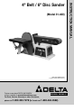 Delta 31-460 Instruction manual - Page 1