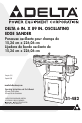 Delta 31-482 Operating instructions and parts manual - Page 1