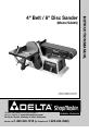 Delta SA446 Instruction manual - Page 1
