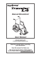 E&J Traveler L4 Operation & user's manual - Page 1