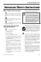 Alesis RA150 Reference manual - Page 5
