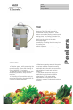 Electrolux Dito 601305 Brochure & specs - Page 1