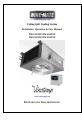 Vinotemp WM-2500SSD Installation, operation & care manual - Page 1