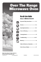 Maytag MMV5207AA Use and care manual - Page 1