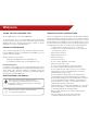Vizio M320SL Operation & user's manual - Page 3