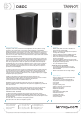 Tannoy Di8DC Specifications - Page 1