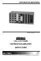 Altinex DA1203RM Operation & user's manual - Page 1