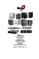 Thecus N4100PRO Operation & user's manual - Page 1