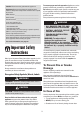 Amana AER4311AAW Use and care manual - Page 2
