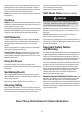 Amana AER4311AAW Use and care manual - Page 4