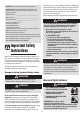 Amana AGR4400ADW Use and care manual - Page 2