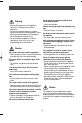 Samsung SR-39NMA Owner's instructions manual - Page 4