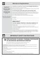 Frigidaire PLMBZ209GC - 2.0 cu. Ft. Microwave Oven Use & care manual - Page 2