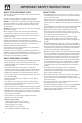 Frigidaire PLMBZ209GC - 2.0 cu. Ft. Microwave Oven Use & care manual - Page 6