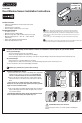 Schlage P516-485 Installation instructions manual - Page 1