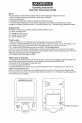 Accusplit AL530 Operating instructions - Page 1