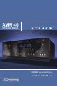Anthem AVM 40 Operating manual - Page 1