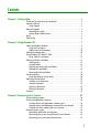 Gateway M-7315u Operation & user's manual - Page 3