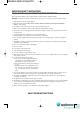 Smeg SA987CX Installation and operating instructions manual - Page 4