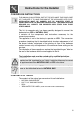 Smeg BQ6030 Instructions for the installer - Page 1