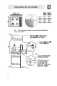 Smeg CIR34XS User	manual	manual - Page 6