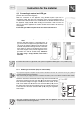 Smeg SCB60GB Instruction manual - Page 6